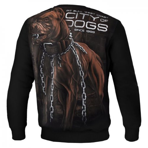CREWNECK CITY OF DOGS 18