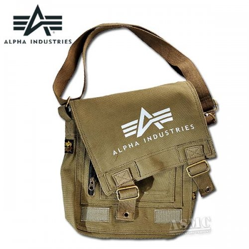 Alpha Industries Big A Canvas Utility Bag