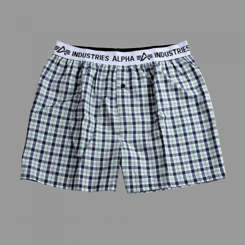 ALPHA Ind.Bodywear Boxer Checked